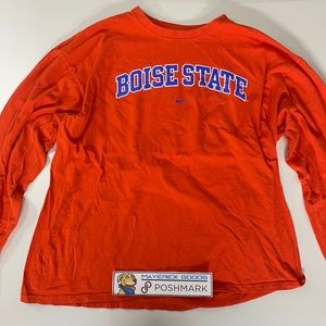 Nike Boise State Shirt Long Sleeve